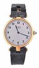 Must De Cartier, Vermeil, a silver gilt
