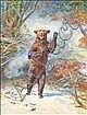 Edmund Caldwell (1852-1930) Bear Watercolour, Edmund G. Caldwell, Click for value