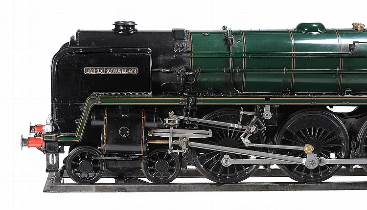 A fine exhibition quality model of a 7 1/ 4 inch gauge 4-6-2