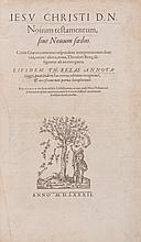 Bible, - Greek & Latin , Novum Testamentum sive Novum Foedus