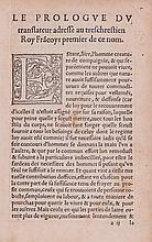 Plutarch. - woodcut decorative initials, faintly ruled in red