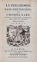 La Follie (Louis Guillaume de) - Le Philosophe sans Prétention, ou l'Homme Rare,