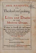 [Fuller (Thomas)] - Abel Redevivus or The Dead Yet Speaking,