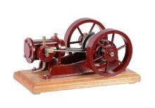 A well engineered freelance model of a single acting horizontal live steam...
