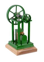 A well engineered model of an over-type double acting steam engine