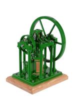 A well engineered model of a 'James Booth' rectilinear steam engine
