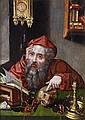 Manner of Quentin Metsys, St. Jerome, Oil on