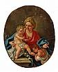 Circle of Francesco de Mura, Madonna and Child