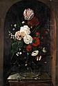 Manner of Hans Bollongier, Floral still life on a