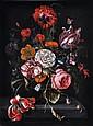 Follower of Abraham Mignon, Still life of flowers