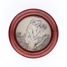 Erotica.- - Snuff box,