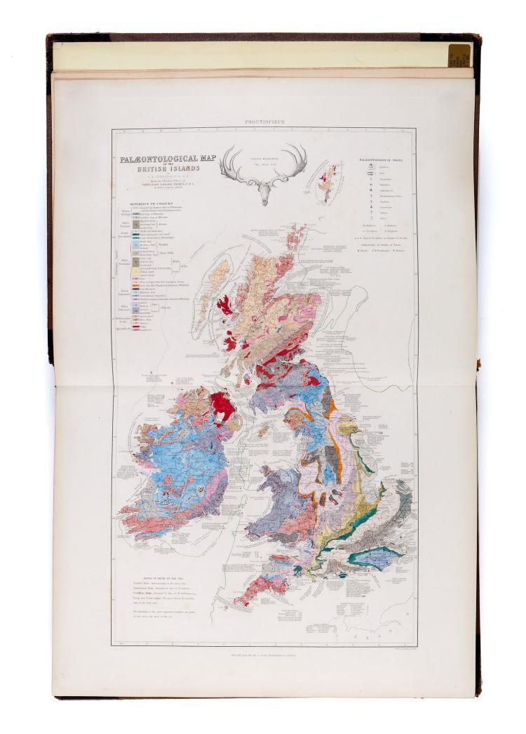 Johnston alexander keith the physical atlas of natural p for Atlas natura
