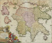 Greece.- Ortelius (Abraham) - Graeciae Universae Secundum Hodiernum Situm Neoterica Descriptio,
