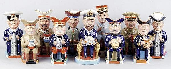 A Set of Eleven Wilkinson 'Royal Staffordshire'