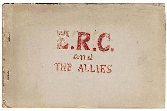 E.R.C. and The Allies, mimeographed typescript