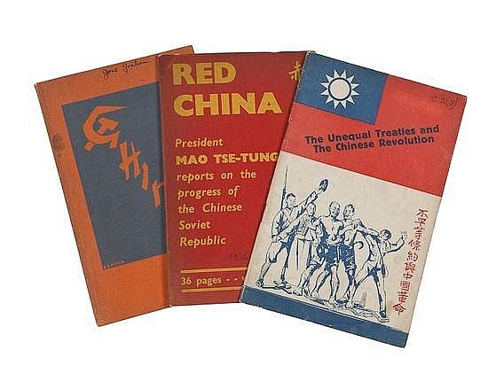 Group of Three Pamphlets, comprising: