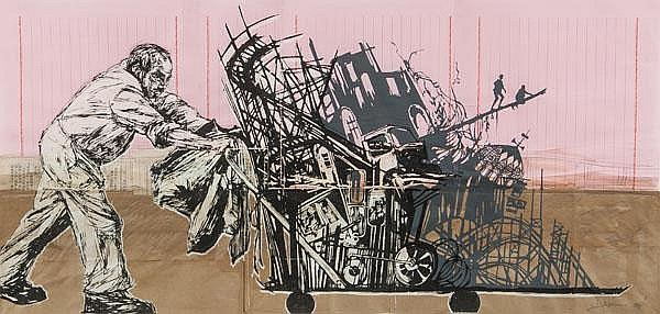 ARR Swoon (American, b.1977), Street Sweeper,