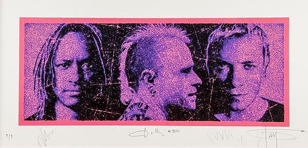 K-Guy (British, b.1968), Anthroprodigy, silkscreen