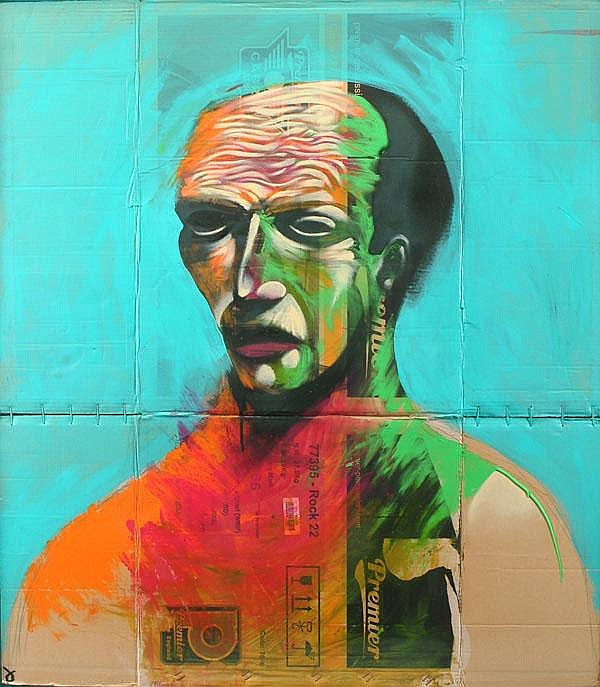 ARR Adam Neate (British, b. 1978), Turquoise