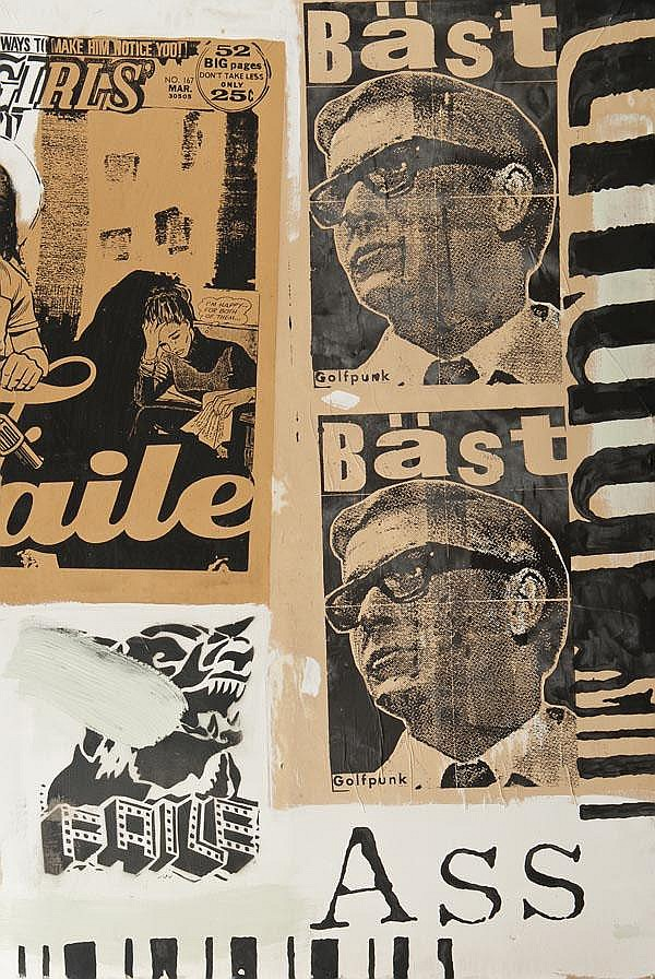 Faile (American) and Bast (American), Golf Punk,