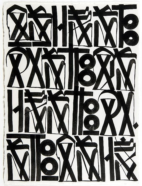 Retna (American, b. 1979), Ashes To Dust, 2010,