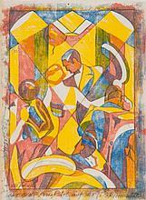 Lill Tschudi (1911-2004) - Foxtrot (C.LT.11)