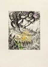 Marc Chagall (1887-1985) - Prise de Jérusalem (from La Bible)(c.30)