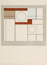 Ben Nicholson (1894-1982) - Squares and Circles (c.13)