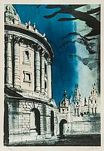 John Piper (1903-1992) - Radcliffe Camera (l.326)