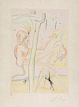 Salvador Dalí (1904-1989) - La Bestiaire de la Fontaine Dalinise (m.&l; 653-664)