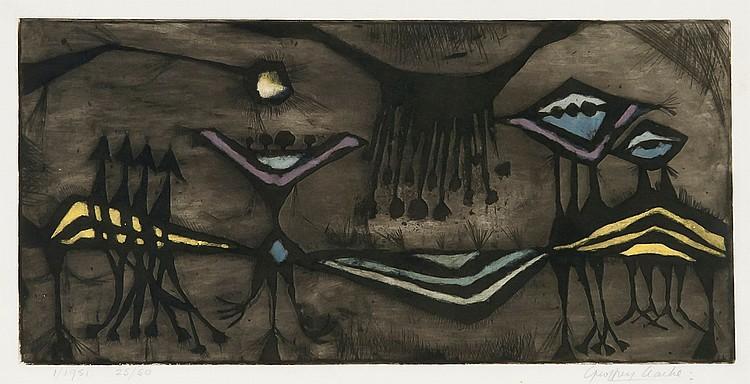 Geoffrey Clarke (b.1924) - Birth of a Flower