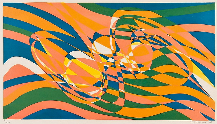 Stanley William Hayter (1901-1988) - Ressac (B.&M.367)