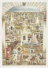 Andrew Ingamells (b.1956) - Prospectus Londinensis (+2 other works)