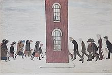 Laurence Stephen Lowry (1887-1976)(after) - Meeting Point