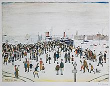 Laurence Stephen Lowry (1887-1976)(after) - Ferry Boats