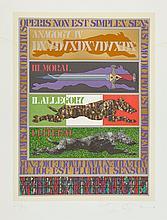 Tom Phillips (b.1937) - Dante's Inferno
