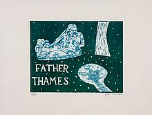 Julian Trevelyan (1910-1988) - Father Thames (T.220)