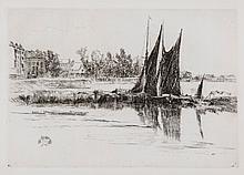 James Abbott McNeill Whistler (1834-1903) - Hurlingham (K.181)