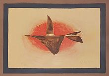 Georges Braque (1882-1963) - Au Couchant (Oiseau XIV) (V.126)