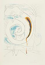 Salvador Dalí (1904-1989) - The Visceral Circle of the Cosmos, from the Conquest of the Cosmos (M.&L.647)