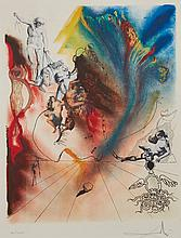 Salvador Dalí (1904-1989) - Romantic (M.&L.1394)