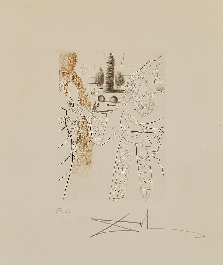 Salvador Dalí (1904-1989) - La Femme Adultere