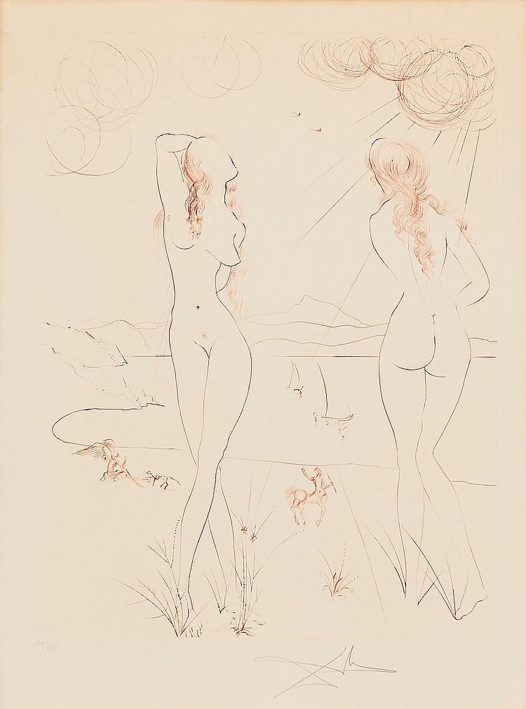 Salvador Dalí (1904-1989) - Espejo Vivo (M.&L.579)