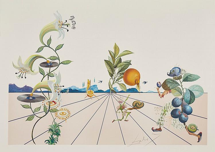 Salvador Dalí (1904-1989) - Flordali I (M.&L.1586)