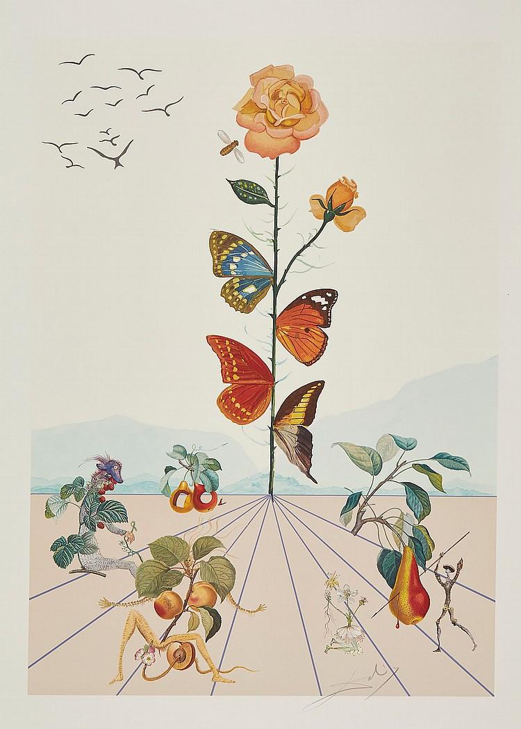 Salvador Dalí (1904-1989) - Flordali II (M.&L.1587)