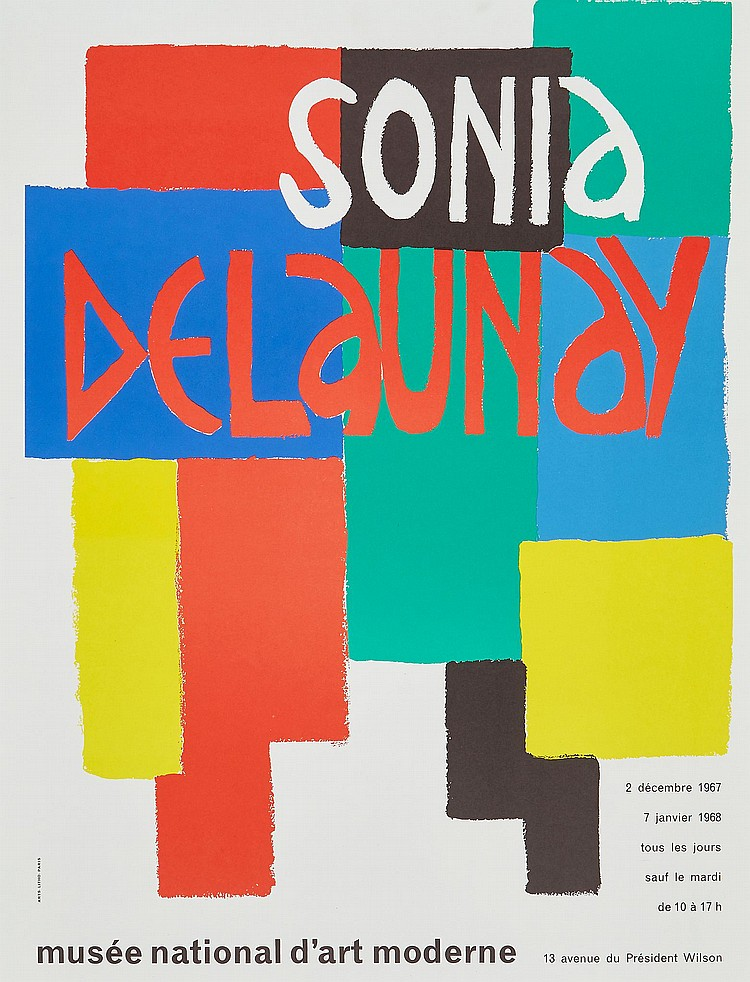 Sonia Delaunay (1885-1979)(after) - Musée National d'art Moderne (+4 other works)