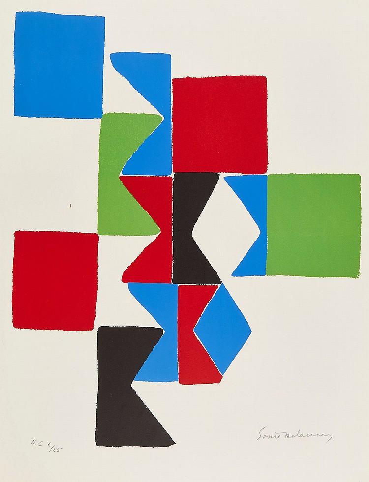 Sonia Delaunay (1885-1979) - Hommage à Tzara