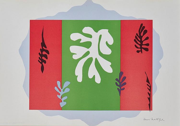 Henri Matisse (1869-1954)(after) - The Dancer