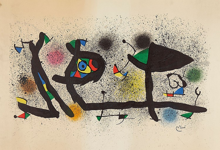 Joan Miró (1893-1983) - Sculptures (C.950)