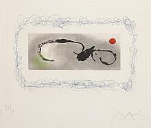 Joan Miró (1893-1983) - Plate 8 from Heraclitus of Ephesus